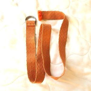 Urban Outfitters orange belt